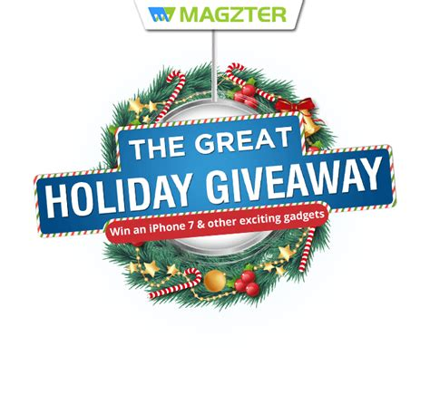 The Great Giveaway - the great holiday giveaway