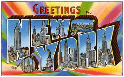 Greetings From New York City by Quote Of The Day Richard Florida On The Joys Of