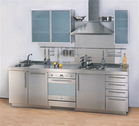 steel cabinets kitchen the kitchen gallery aluminium and stainless steel