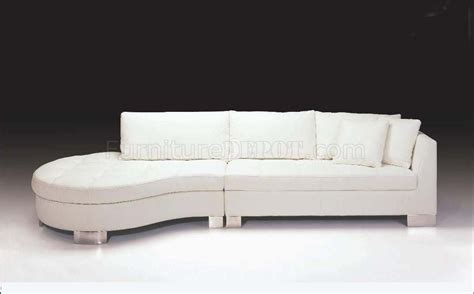 white italian leather sofa white full italian leather contemporary sectional sofa f48l