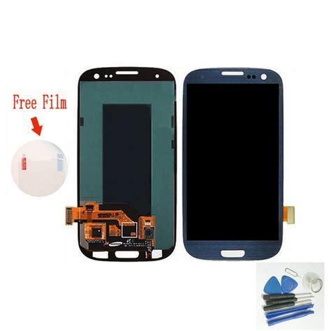 Lcd Dan Touchscreen Samsung S3 blue lcd for samsung galaxy s3 i9300 lcd display digitizer