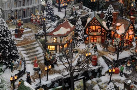 charles dickens inspired village a christmas carol is one