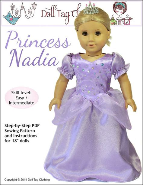 Nadiah Dres By Princes Pixie Faire Doll Tag Clothing Princess Doll Clothes