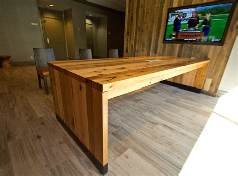 bethesda marriott antique reclaimed oak tables resawn