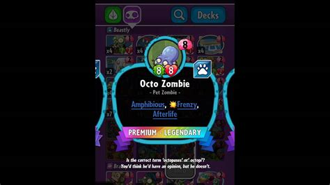 pvz hereos card template plants vs zombies heroes legendary cards