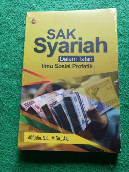 jual stock terbatas buku sak syariah dalam tafsir ilmu