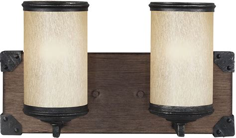 oak bathroom light fixtures seagull 4413302 846 dunning stardust cerused oak 3 light