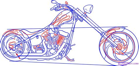 how to draw a motocross bike draw a motorcycle step by step drawing sheets added by