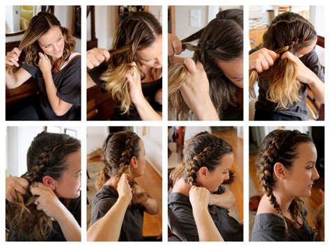 how to do two french braids with weave double french braid tutorial different french