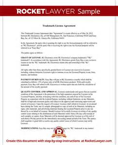 brand licensing agreement template trademark license agreement form create a template with
