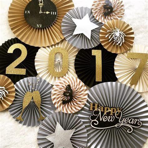 new year fan decoration new years backdrop pleats on sheets