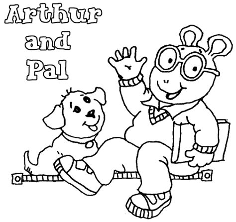 Cartoons Coloring Pages Arthur Coloring Pages Arthur Colouring Pages