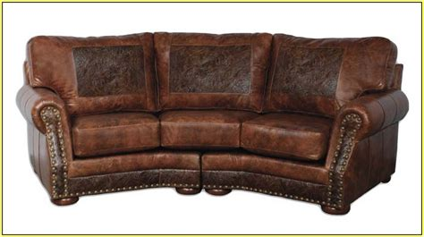 curved leather sofa curved sectionals leather sofas home design ideas