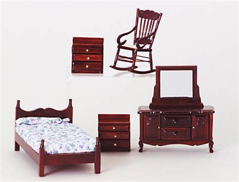Cannonball Bedroom Furniture Sets Value Priced Bedroom Furniture Sets From Fingertip Fantasies Dollhouse Miniatures