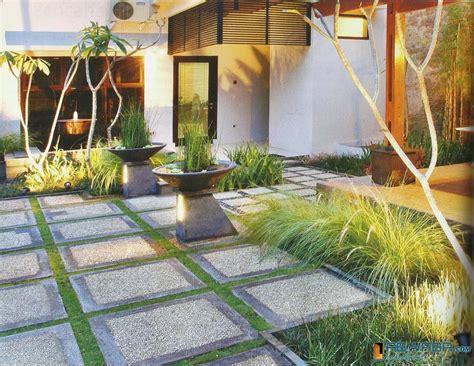 desain taman hotel gambar desain rumah minimalis