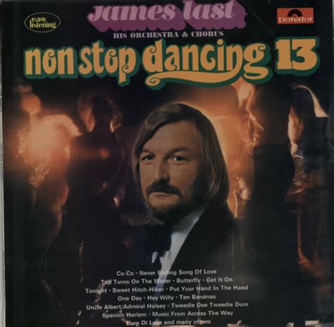 13 non stop james last non stop dancing 13 uk vinyl lp record 2371189