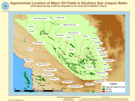 map us fields californian and gas overview map