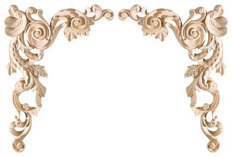 decorative ceiling appliques large spanish corner appliques pair eclectic