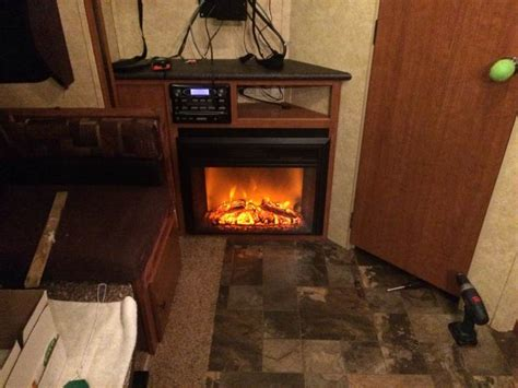 26 quot greystone electric fireplace with remote