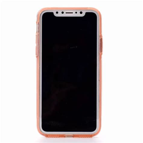 fr iphone x xr xs max ultra thin hybrid tpu back pc front 360 176 cover ebay