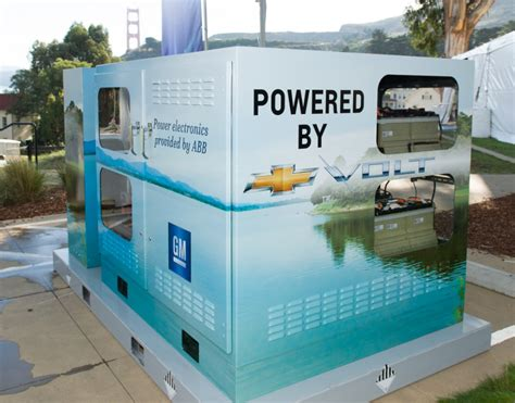 house battery gm turns your old chevy volt battery into a whole house ups extremetech