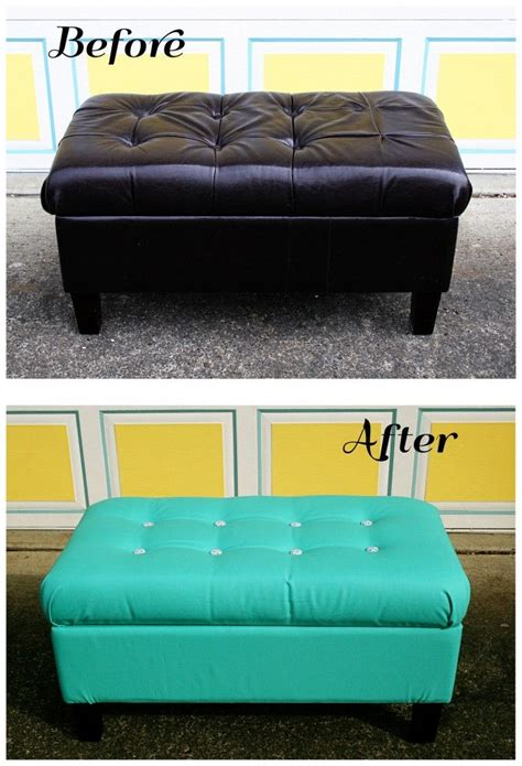 how to reupholster a storage ottoman if i get really brave enough to try upholstery i might