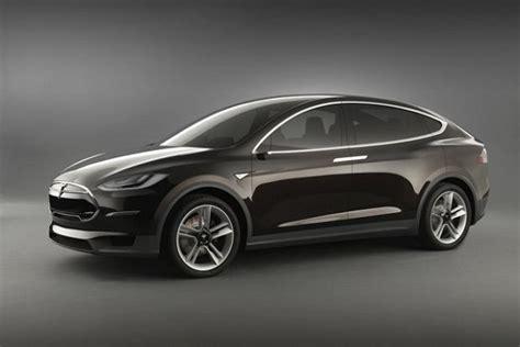 Z Tesla Skrzydlata Tesla Model X