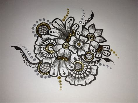 henna tattoo designs drawings several alternative options for henna flower designs