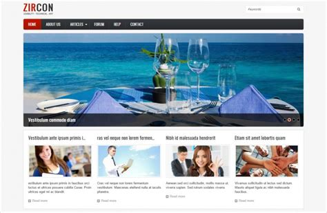 20 Best Html5 Drupal Free Premium Templates Themes Free Premium Templates Free Drupal 8 Templates
