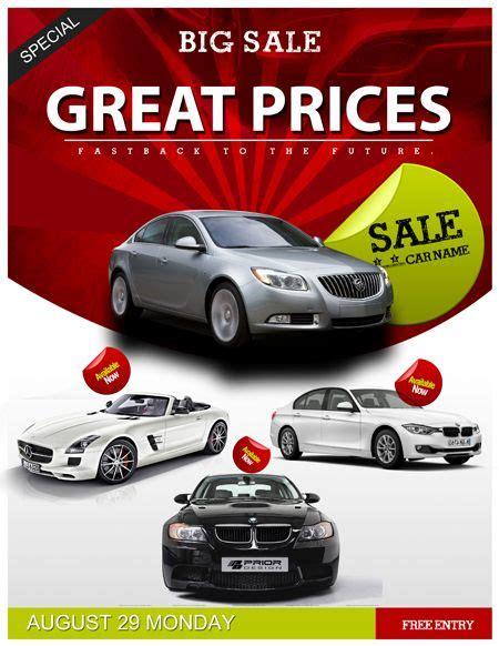 Auto Sales Flyer Template Car Sales Psd Flyer Template Trendy Flyers Psdflyers Pinterest Car For Sale Flyer Template Free