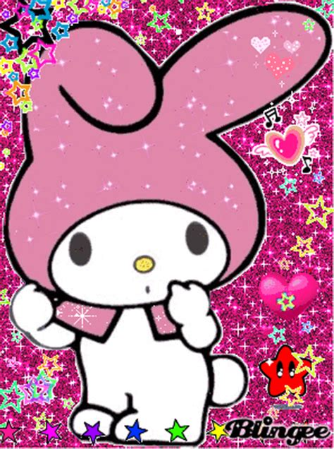 imagenes de hello kitty y my melody my melody repink picture 77941657 blingee com