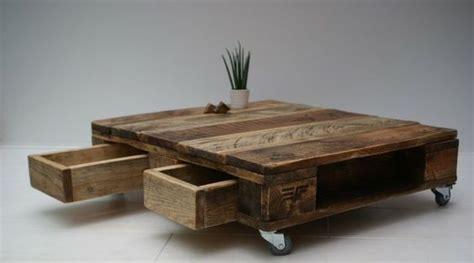 Merveilleux Table Basse En Palette De Bois #3: Table-basse-palette-avec-tiroirs.jpg