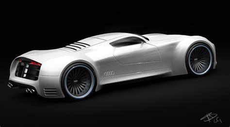 audi supercar audi r10 supercar facelfit concept study garage car