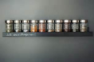 Small Wall Spice Rack Custom Diy Spice Rack In Your Ikea Kitchen The La