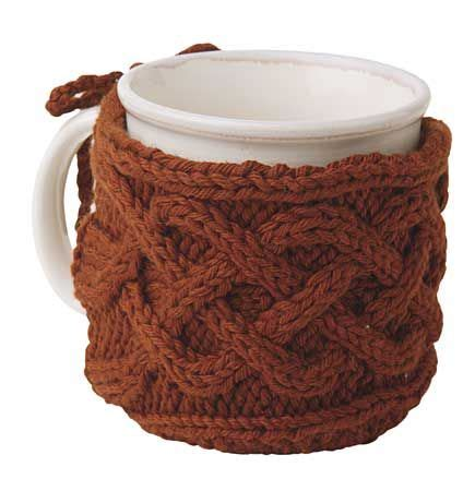 knit picks pattern holder cabled mug cozy free pattern from knit picks k n i t