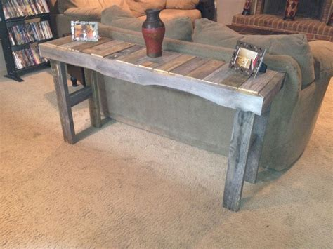 pallet sofa table sofa table made from pallets things i built
