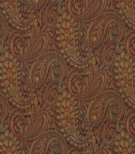 paisley upholstery fabric upholstery fabric robert allen tamil paisley mosaic jo ann