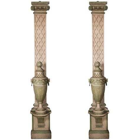 faux painted columns 1940 s faux painted columns with attached faux painted