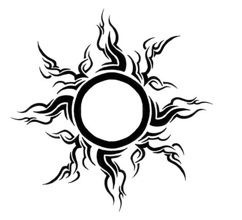 tribal leo sun tattoo best tattoo design ideas tattoo