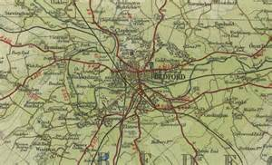 bedford map bedford map