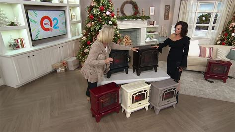 duraflame infrared stove heater with remote duraflame infrared stove heater with remote on qvc