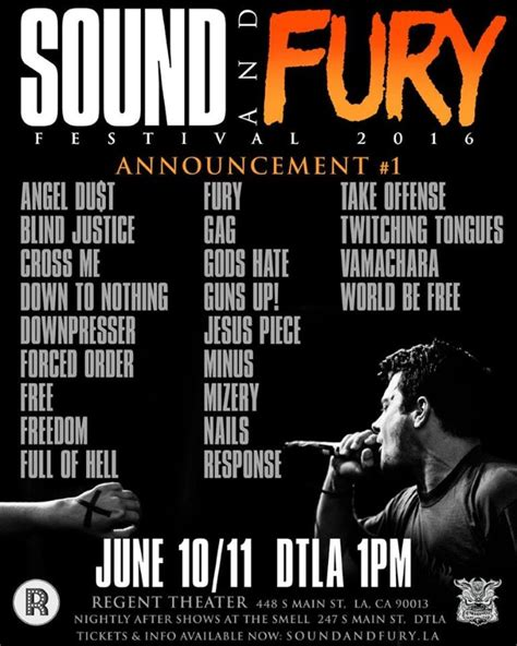 Sound And Fury sound and fury festival returns in 2016 bandmine