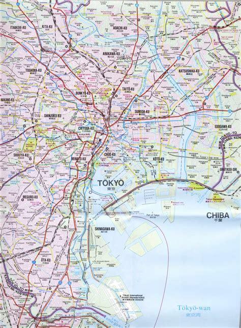 printable map tokyo detailed map of tokyo free printable maps
