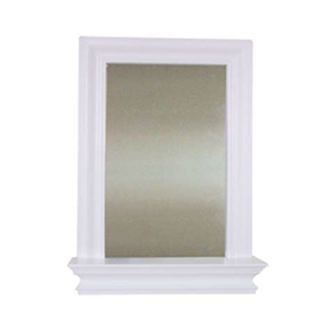 18 x 24 bathroom mirror shop elegant home fashions 24 in h x 18 in w ford white