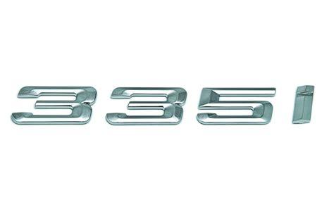 93 Series Logo bmw genuine quot 335i quot adhesive sticker badge emblem e92 e93 3