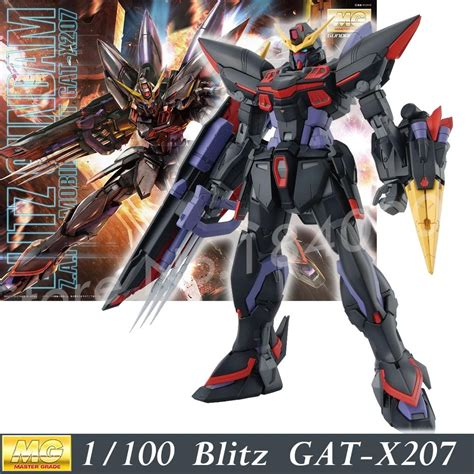 gundam seed mobile suits daban 6615 2016 model gat x207 blitz mg 1 100 gundam seed