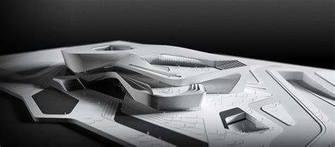 design concept competition architectural model zhuhai culture center competition