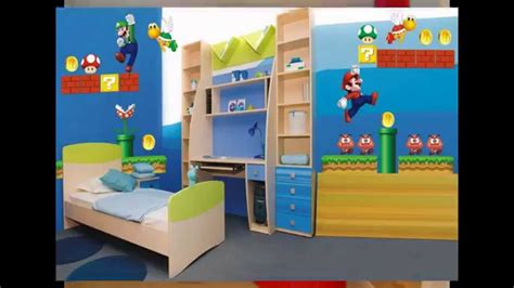 mario brothers bedroom super mario bedroom decorations ideas youtube