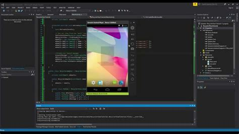 video tutorial xamarin xamarin android tutorial 23 implementing a recycler view