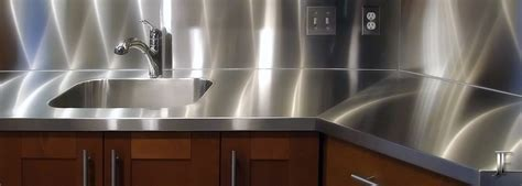 Stainless Steel Countertops   Copper Countertops   Custom